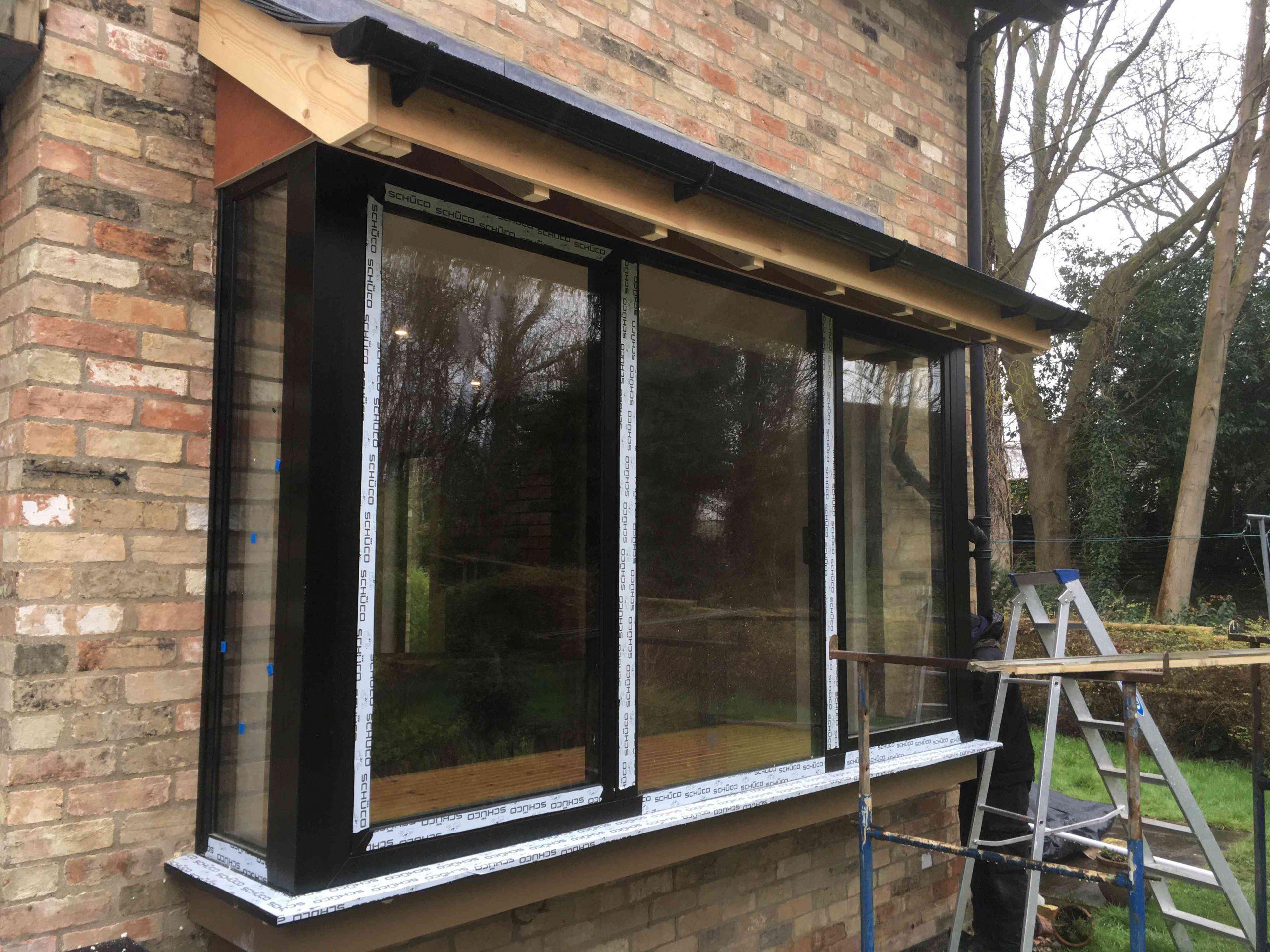 schuco-front-doors-London-schuco-aluminium-bifold-doors-London